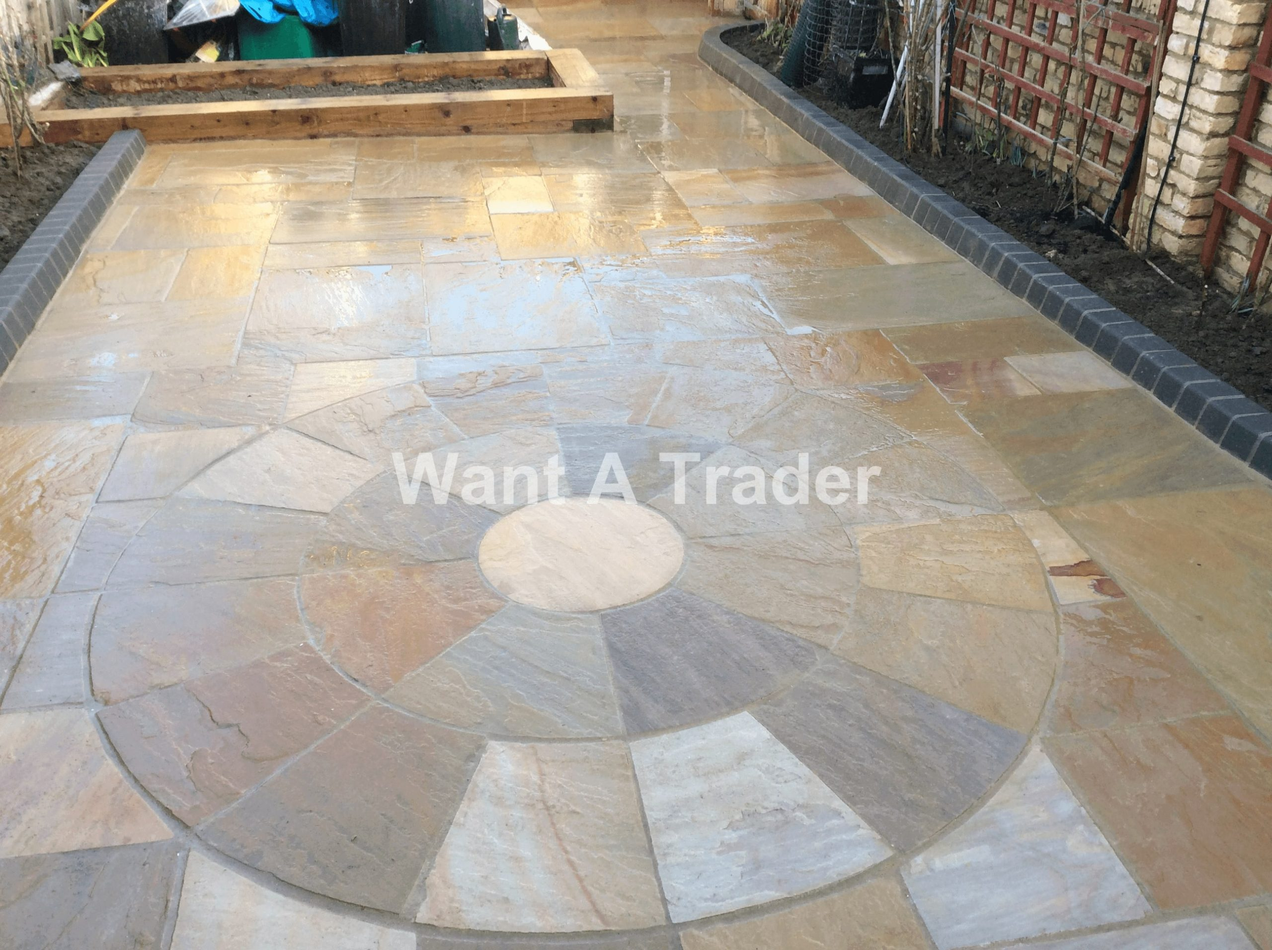 Garden Patio Paving Lee SE12