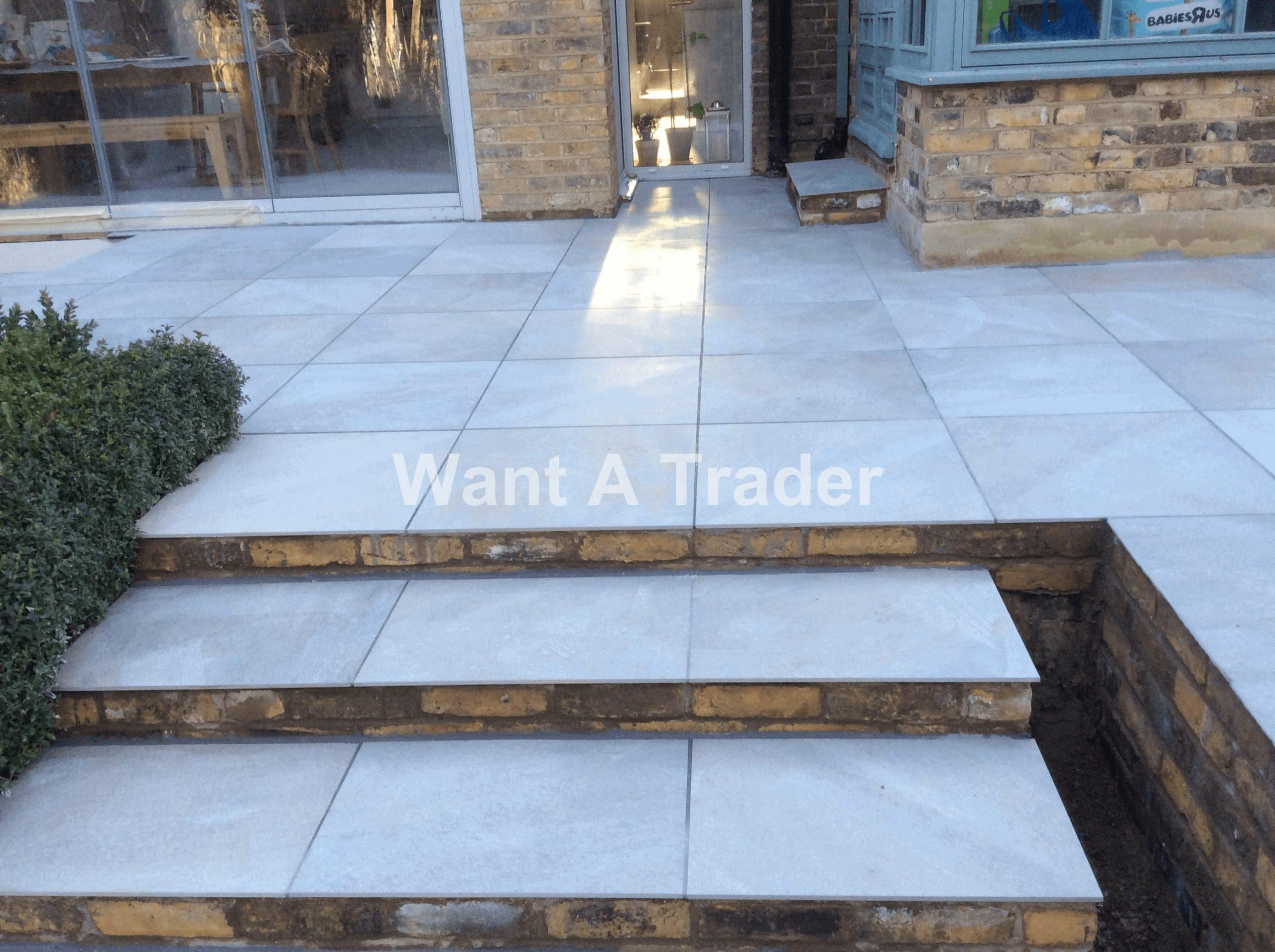 Garden Step Design and Installation Contractor Lee SE12