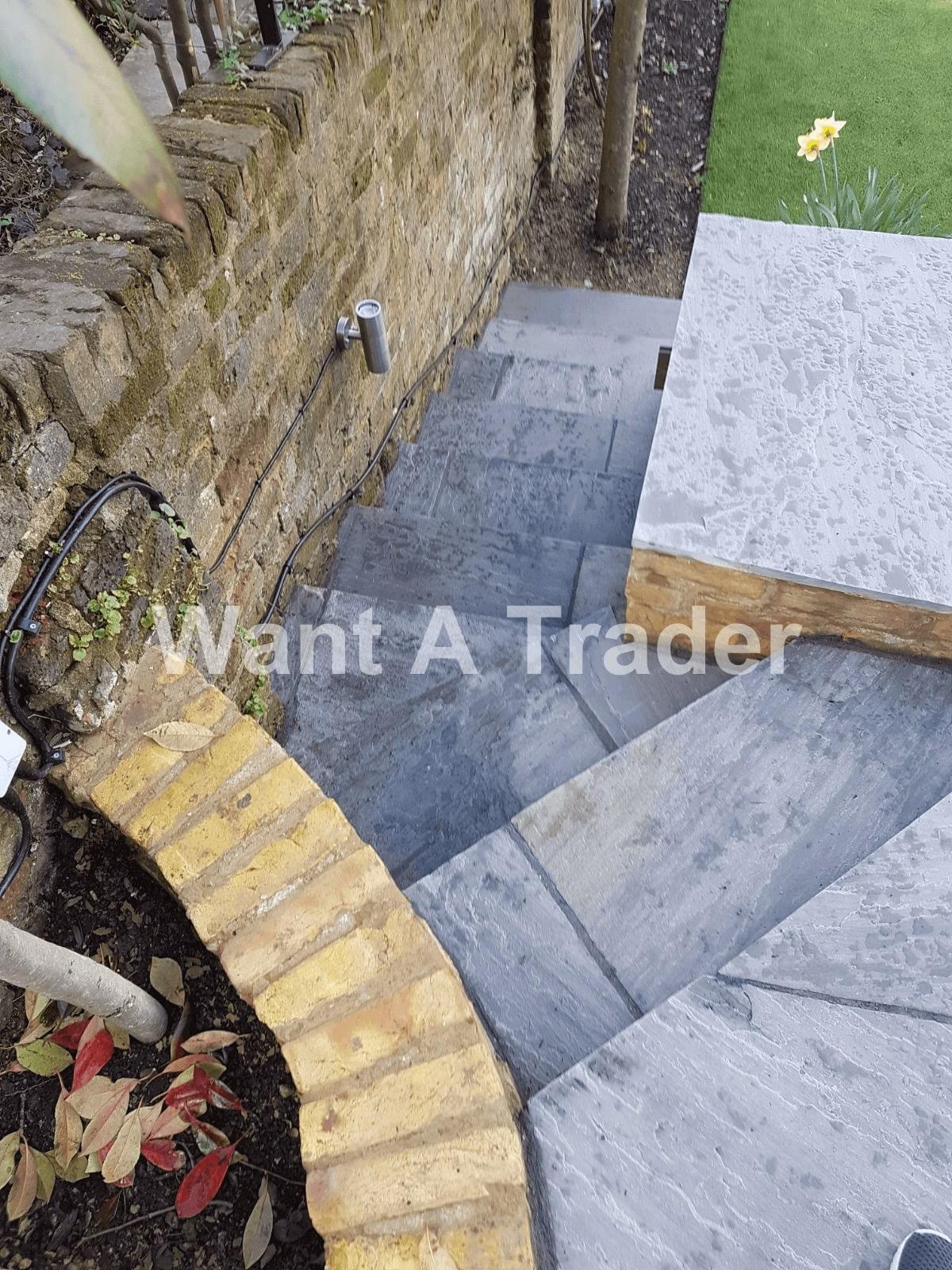 Garden Step Design and Installation Company Lee SE12